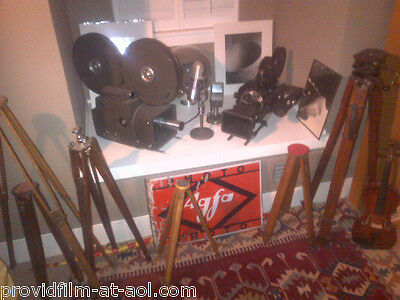ANTIQUES: RARE MOVIE CAMs, STUDIO LITES, OLD MICS  FOR YOUR FINE HOME MAKE OFFER