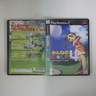 Everybody's Golf4/PS2 PlayStation 2 JP GAME/s26