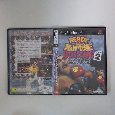 Ready 2 Rumble Boxing Round 2 PS2 PlayStation 2 JP GAME/s26