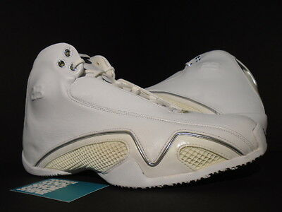 402c4668508f97 2006 Nike Air Jordan XXI XX1 21 PURE WHITE METALLIC SILVER BLACK 313038-101  12
