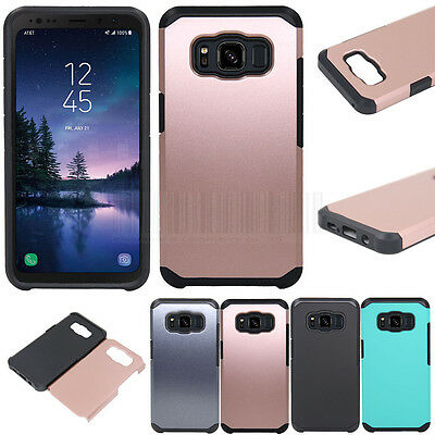 Slim Hybrid Hard Armor Case Shockproof Phone Cover For Samsung Galaxy S8 Active