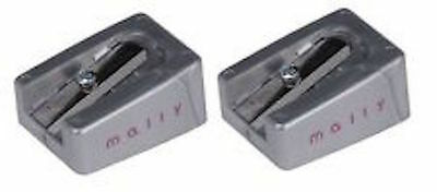 Mally Lot Of 2 Single Chamber Sharpeners