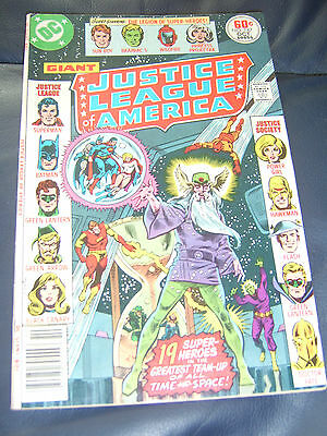 Justice League of America #147 Oct 1977 (FN) Bronze Age Giant Size