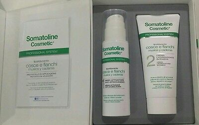 Somatoline cosmetic proffesional system pack muslos y caderas