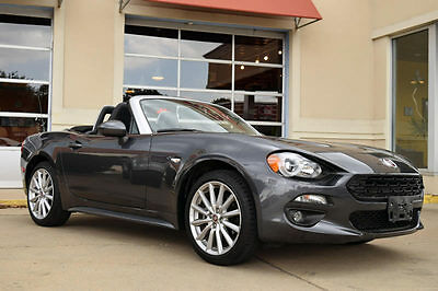 2017 Fiat 124 Spider Abarth 2017 FIAT 124 Spider Abarth Convertible, Leather, Navigation, Automatic, More!