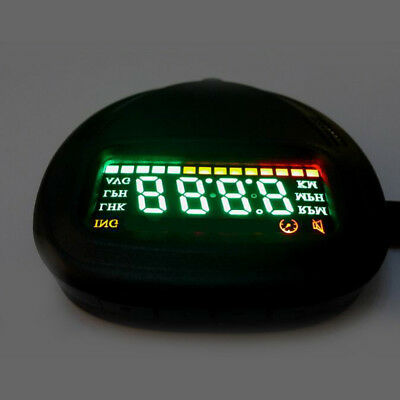 Head UP HUD GPS Time Display Brightness Remote Control Speed Indication XH