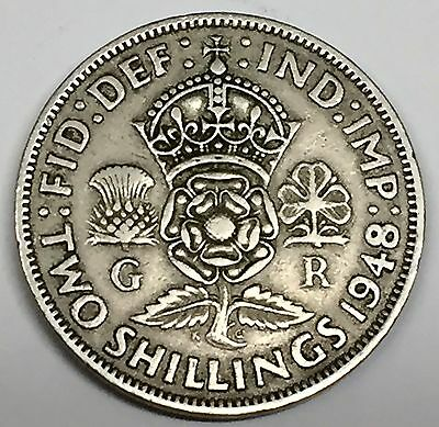 C3788    Great  Britain   Coin,   Florin  ( 2 Shilling )      1948