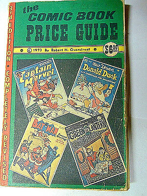 1973 Overstreet Comic Book Price Guide #3 Good 1st Edition
