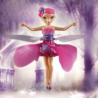 Flying Fairy Magic Elsa Doll Infrared Induction Control Dolls Fly Toy  Gift