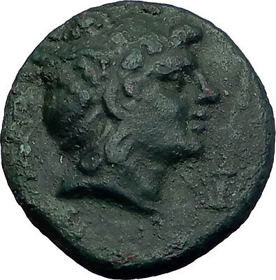 PERSEUS 179BC Macedonia King RARE R2 Authentic Ancient Greek Coin Eagle i63494