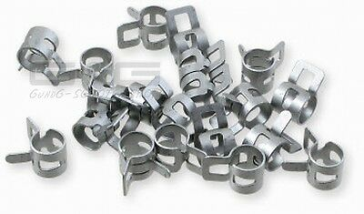 hose clamps clamp rings 6mm 10 Pcs Clamps Universal for Tubes