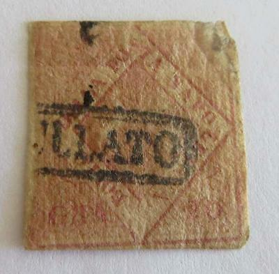 Italy 1858 Naples 20g used