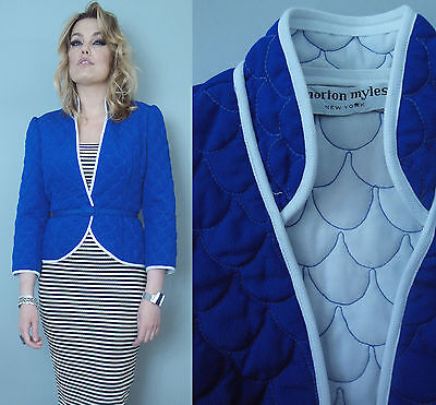 Vtg  MORTON MYLES New York true vintage Jacket blazer w/ belt