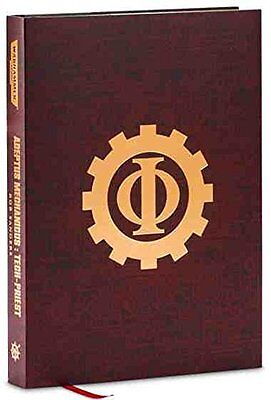 Rob Sanders - Tech Priest -  Super Limited Warhammer 40000 Hardback - Extremely