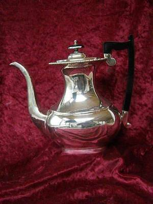 Vintage Antique Viners Of Sheffield Silver Plate Coffee Pot Tableware