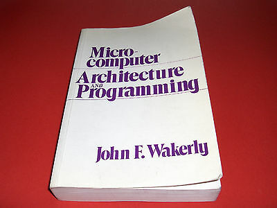 1981 Book Microomputer Architecture And Programming Stanford University