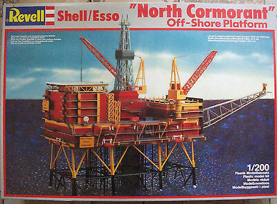 Revell 8803 1:200 SHELL ESSO OFF-SHORE PLATFORM NORTH CORMORANT Rarität
