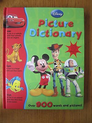 Disney Picture Dictionary Book Very Good Condition