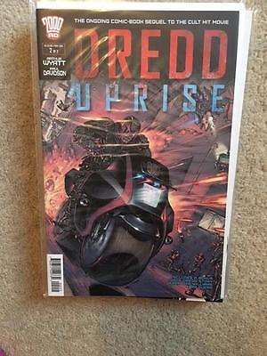 2000 Ad Judge Dredd Uprise Issue 2 Of 2 First Print Bagged & Boarded
