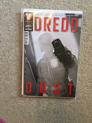 2000 Ad Judge Dredd Dust Issue 1 Of 2 First Print Bagged & Boarded