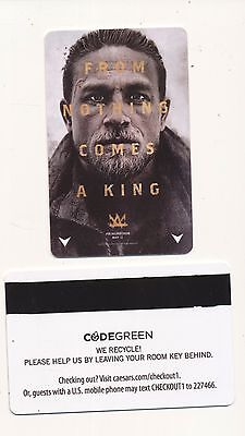 "KING ARTHUR ""From Nothing Comes a King ""-CAESARS PALACE-Cinema Con 2017-room key"