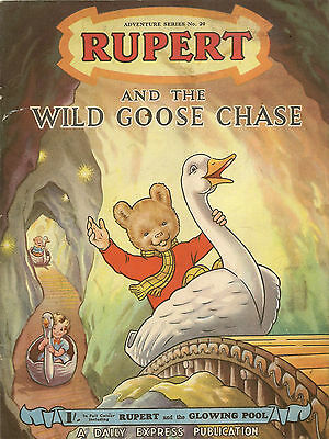 Rupert Adventure Series No 20 - Rupert and the Wild Goose Chase VG+