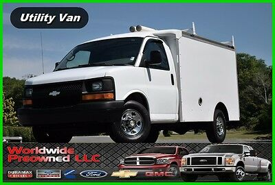 2007 Chevrolet Express Chevy Chevrolet Utility Van Truck Gas 2007 Chevrolet Express Enclosed Utility Van 4.8L Vortec Gas Chevy GMC Box Truck