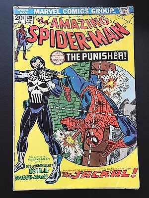 The Amazing Spider-Man #129 - Key Issue 1st App of Punisher ASM Spidey