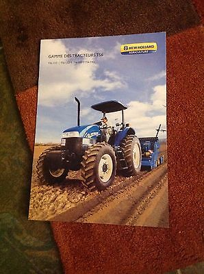 Rare Mexico-built New Holland TS6 tractor range brochure (Fiat Ford)