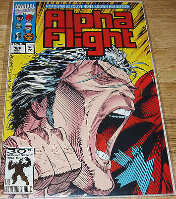 Marvel - Alpha Flight  106 -1992  - NM - Boarded & Bagged
