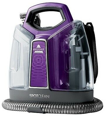LATEST MODEL!! Bissell 36984 Spotclean Portable Carpet Deep Cleaner  with Sample