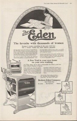 1919 Brokaw Eden Washing Machine Clothes Maid Clean Ad8534