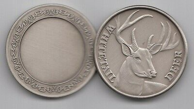 Buck Whitetail Deer coin