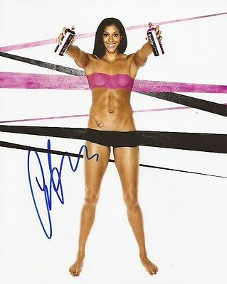 Candace Parker Los Angeles Sparks signed ESPN Body Issue 8x10 photo Tennessee