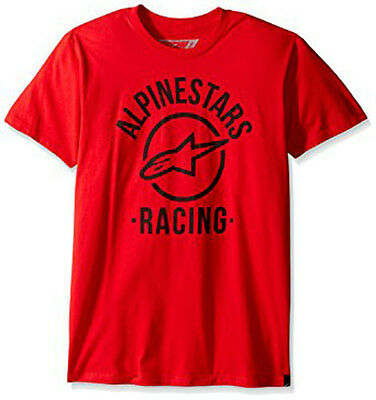 Alpinestars Spelled Out Tee Red 410538 M