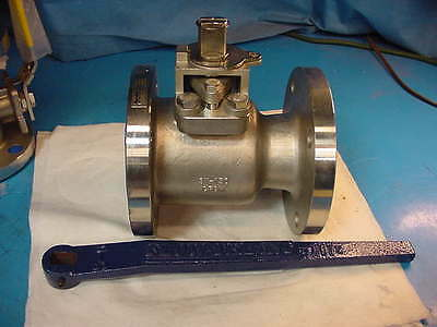"New Flow Tek 3"" 150 RF15 CF8M Ball Valve Stainless Steel"