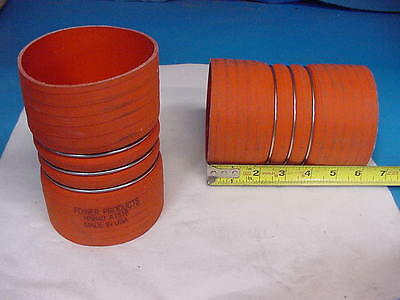 "Power Products Convoluted charge air hose 4"" 4 Ply Nomex navistar peterbilt"