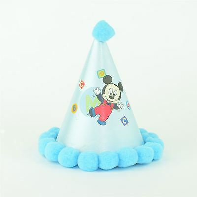Micky Mouse Paper Cone Party Hat Birthday Decorations Accessories Party Favours