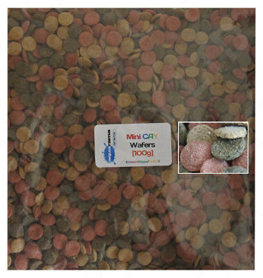 Aquarama MINI CAY (Colour,Algae & Yellow Mix) Wafers Tropical Fish Food [100g]