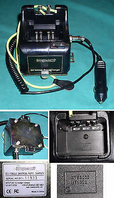 IMPACT DC-1 RAPID CHARGER for MOTOROLA XTS 3000/2500/1500/HT 1000/MT/MTX/MTS2000