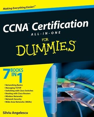 CCNA Certification All-In-One for Dummies (Paperback), Angelescu,...