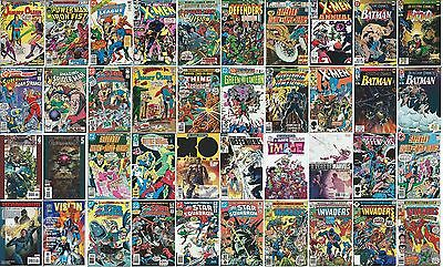 LOT of 40 COMIC BOOK COLLECTION (Silver BronzeCopperModern) Defenders Spider-man
