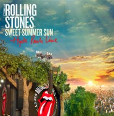 The Rolling Stones-Sweet Summer Sun - Hyde Park Live  CD with DVD NEW