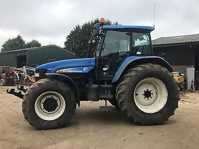 new holland tm155 tractor front linkage+pto 4x4 full cab
