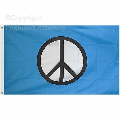 5' x 3' FLAG CND Festival Large Flags Camping Demo Protest ft 150x90cm New