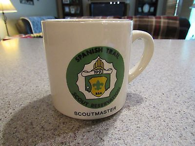 BOY SCOUTS of AMERICA! - Vintage, Scoutmaster, Spanish Trail, Coffee Mug, Clean