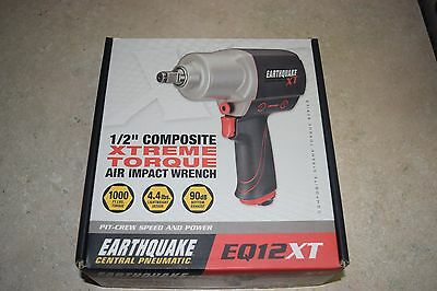 "Xtreme Torque Air Impact Wrench EARTHQUAKE XT 1/2 "" Composite - NEW"