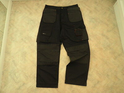 Himalayan Work Wear Trousers Multi Pocket & Knee Pad Pockets 34W 28.5 L