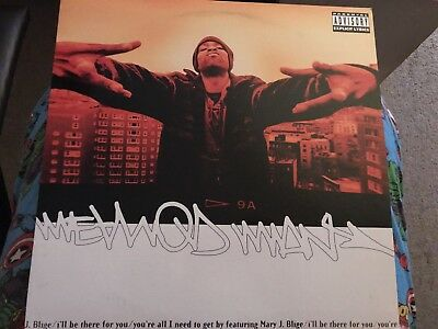 "Method Man I'll Be There For You/what The Blood Clot 12"" Vgc"