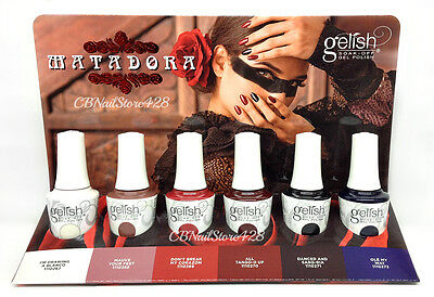 Harmony Gelish - MATADORA Fall 2017 Collection - Pick Any Shade .5oz
